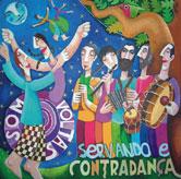 Capa do disco «Som Voltas» de Servando e Contradança